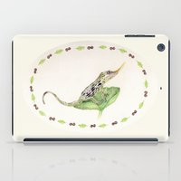 The Horned Anole iPad Case