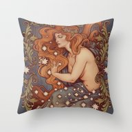 COSMIC LOVER Color Versi… Throw Pillow