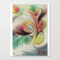 MindCloud Canvas Print