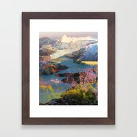 Untitled 20140417o (Land… Framed Art Print
