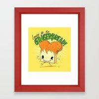 GingerBread Framed Art Print