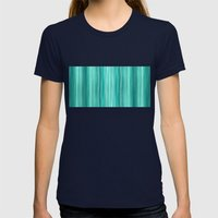 Ambient 5 Teal Womens Fitted Tee Navy SMALL