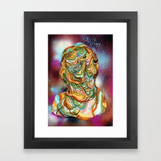 space ooze Framed Art Print