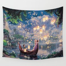 Tangled - When Will My Life Begin Wall Tapestry