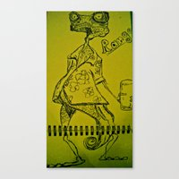 Rango Canvas Print