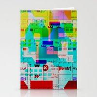 Glitch 002 Stationery Cards