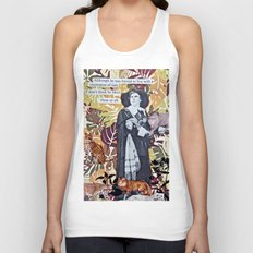 Cats! Cats! Everywhere!  Unisex Tank Top