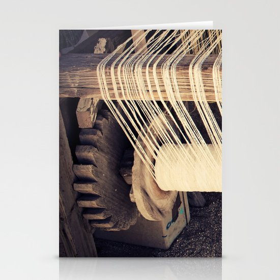Textile Series - Loom Stationery Card