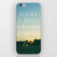 Today I Will Make Magic iPhone & iPod Skin