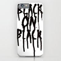Black on black iPhone 6 Slim Case
