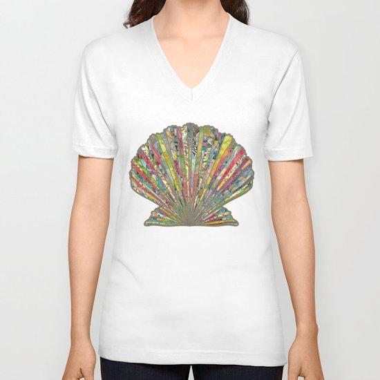 Sea Shell V-neck T-shirt