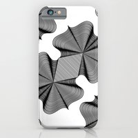 iPhone Cases featuring In Two Places at Once by Norman Duenas