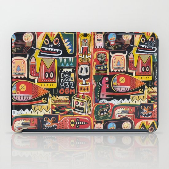 Mutant pop corn iPad Case