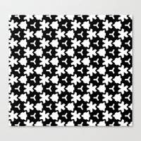 Canvas Print featuring Weizigt Black & White by Stoflab