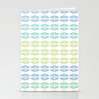ORGANIC & NATURE (BLUES) Stationery Cards