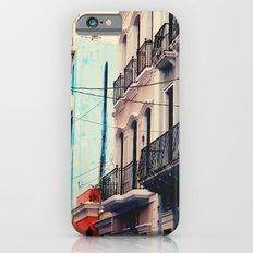 Colorful Buildings of Old San Juan, Puerto Rico Slim Case iPhone 6s