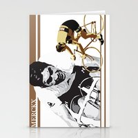 cycling legend Eddy 'The Cannibal' Merckx Stationery Cards