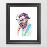 So What Framed Art Print