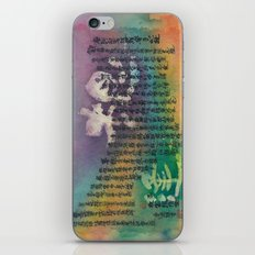 The deceased sister-in-law (Heart Sutra/般若心経)  iPhone & iPod Skin
