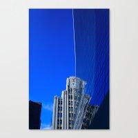 New York Illusion  Canvas Print