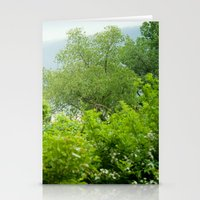 Tree's As Far As The Eye… Stationery Cards