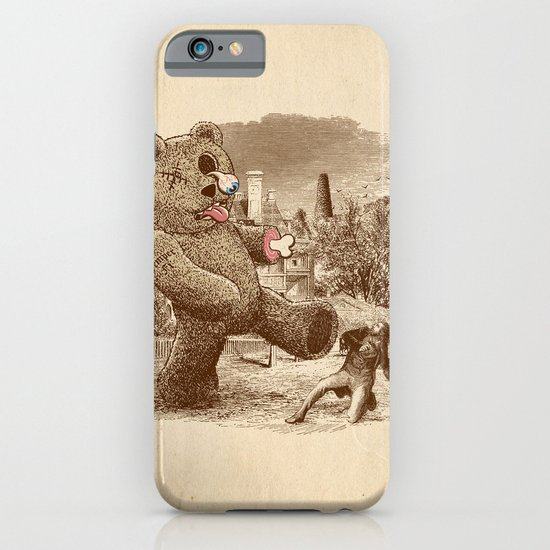Teddy's Back! iPhone & iPod Case