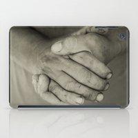 manos trabajadoras iPad Case