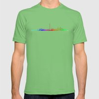 Toronto Rainbow Mens Fitted Tee Grass SMALL