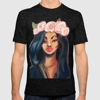 Princess Mens Fitted Tee Tri-Black SMALL
