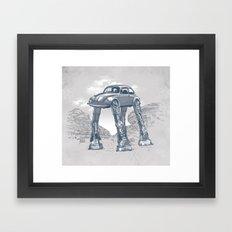 Star Warsvergnugen Framed Art Print