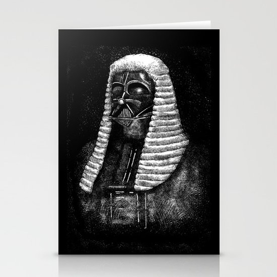 Lord Vader Stationery Card