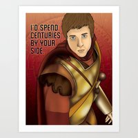Rory Williams - I'd Spend Centuries By Your Side Art Print