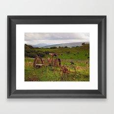 At Sgriob-Ruadh Farm Framed Art Print