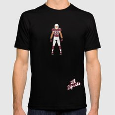 Cards - Tyrann Mathieu Black SMALL Mens Fitted Tee