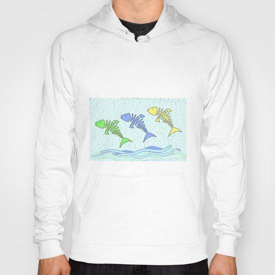 Fish jumping Hoody
