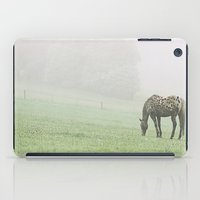 Leopard In The Mist.  iPad Case