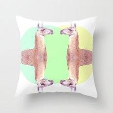 Falling in a Dream  Throw Pillow