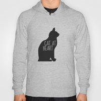 CAT AT HEART Hoody