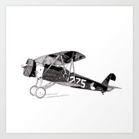 Fokker D.XVI Art Print