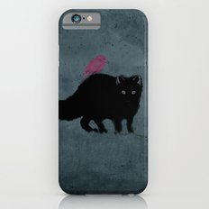 Cat and bird friends! Slim Case iPhone 6s