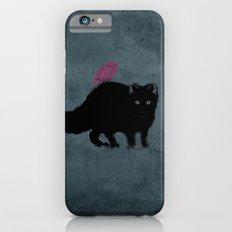 Cat and bird friends! iPhone 6 Slim Case