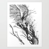 Tree Nymph Art Print