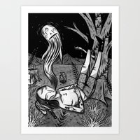 BOY WHO WHISTLES IN HIS … Art Print