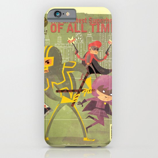 kick ass fan art 2 iPhone & iPod Case