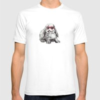 Lolita Bunny Mens Fitted Tee White SMALL