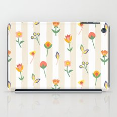 Paper Cut Flowers iPad Case