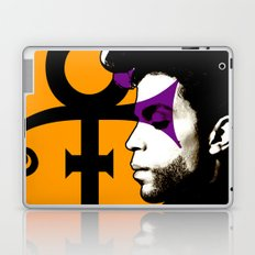 Prince portrait, Prince tribute Laptop & iPad Skin