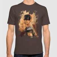 Furiosa Mens Fitted Tee Brown SMALL