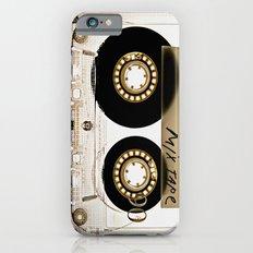 Classic retro transparent cassette tape iPhone 4 4s 5 5c, ipod, ipad, tshirt, mugs and pillow case iPhone 6 Slim Case