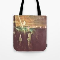 disco sunset Tote Bag